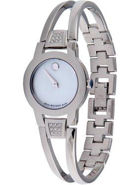 Movado Women's 0606617 Amorosa Stainless Steel Watch