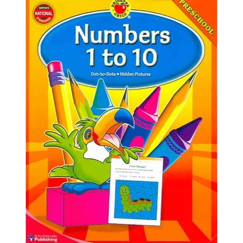 Brighter Child Numbers 1 to 10, Preschool