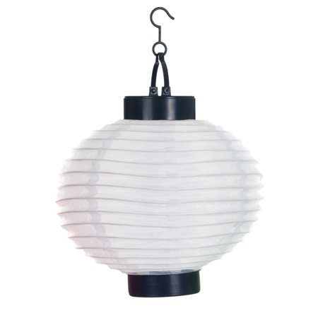 Pure Garden Outdoor Solar Chinese Lanterns Led Set Of 4