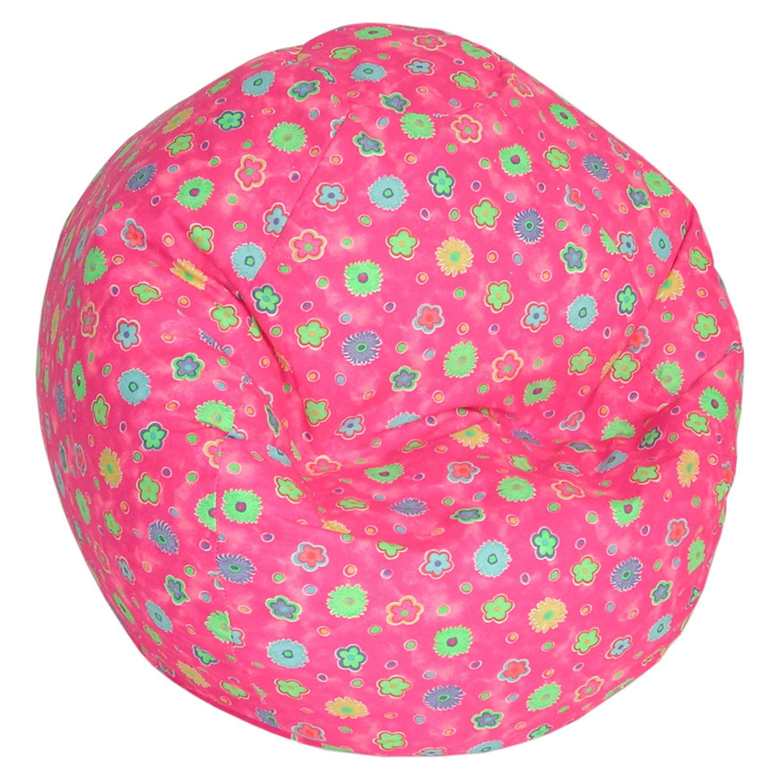 Bean bag chairs for teenage girls - Fun Factory Wetlook Large Bean Bag Pink Flower