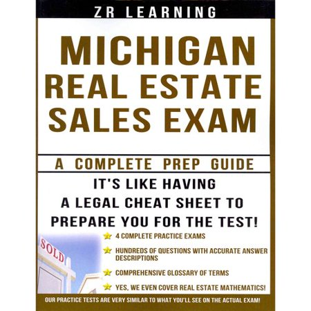 Michigan Real Estate Sales Exam  A Complete Prep Guide