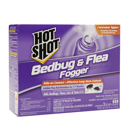 Hot Shot Bedbug & Flea Foggers 2.0 oz(pack of 1)