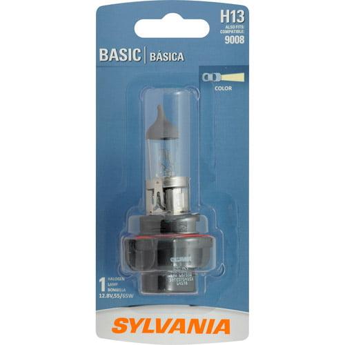 Sylvania H13 / 9008 Basic Headlight, Contains 1 Bulb
