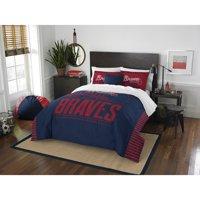 """MLB Atlanta Braves """"Grand Slam"""" Bedding Full/Queen Comforter Set"""