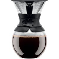Bodum Pour Over Coffee Maker with Permanent Filter, 1 L, 34 Ounce