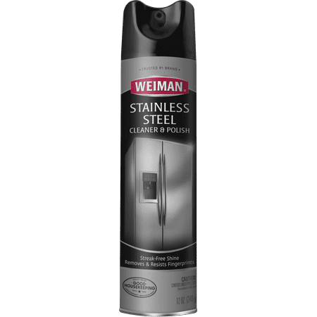 Weiman Stainless Steel Cleaner & Polish - 12 Ounce Meyer Stainless Steel