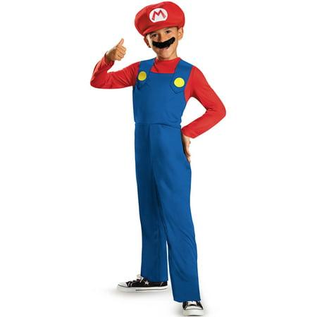 Mario Classic Child Costume