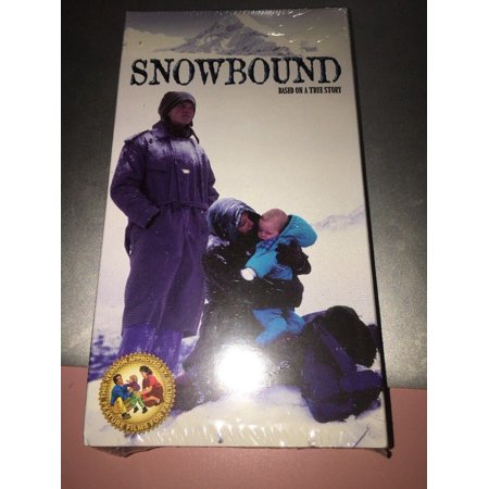 SNOWBOUND: Based On True Story (vhs) Neil Patrick Harris, Susan Clark. NEW. Rare](Patrick Neil Harris Family Halloween)