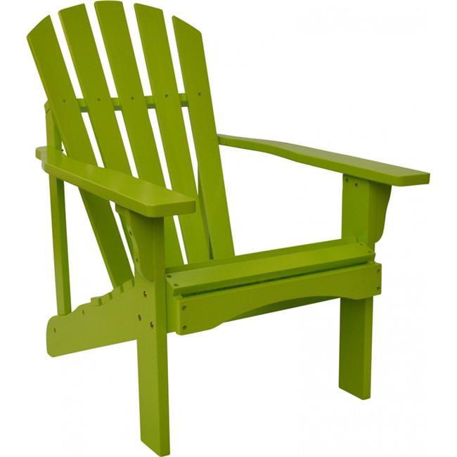 Rockport Adirondack Chair, Lime Green