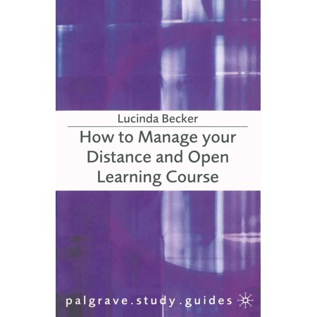 How to Manage your Distance and Open Learning Course -