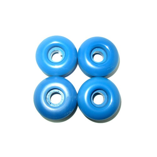 Skateboard WHEELS Blank 52mm BLUE Skateboard WHEELS