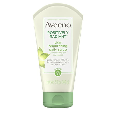 Aveeno Positively Radiant Skin Brightening Exfoliating Face Scrub 5 (Best Gentle Face Exfoliator)