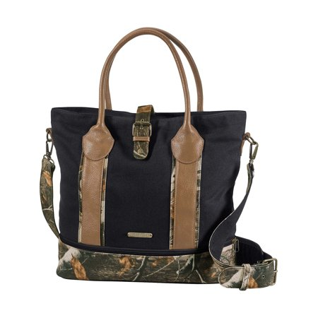 Camouflage Tote (Legendary Whitetails Women's Weekend Adventure Camo Travel Tote Bag Black )