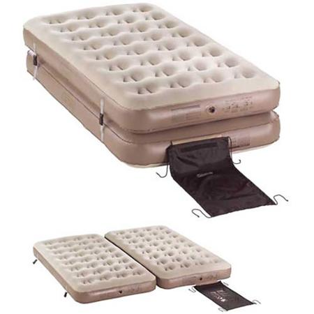 Coleman 4-N-1 QuickBed Airbed, Tan