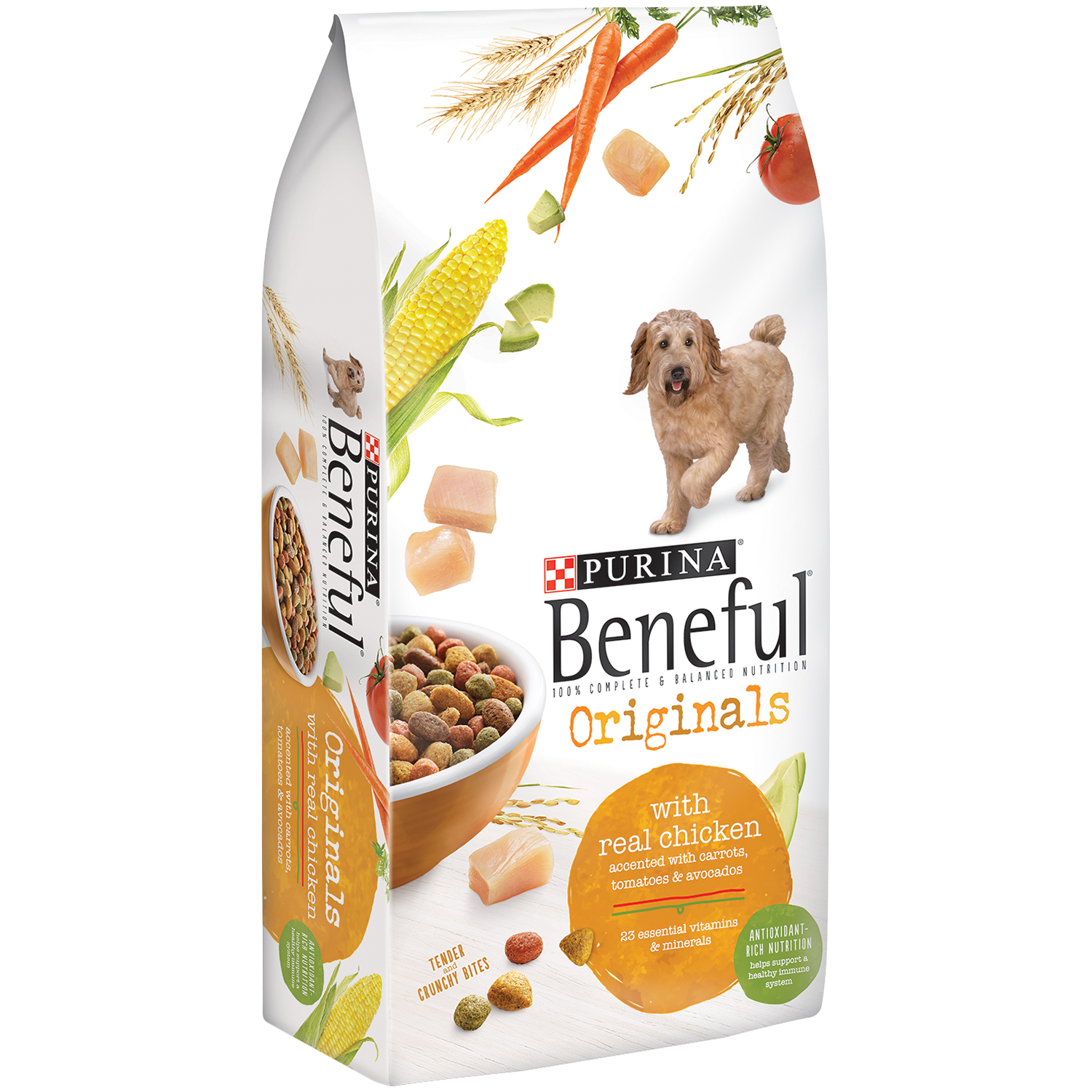 Purina Beneful Originals With Real Chicken Dog Food 3.5 lb. Bag