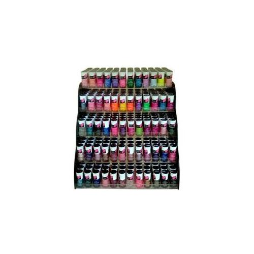 Bulk Buys 360 Pc Crack Nail Polish 30 Colors With Display Rack - Case of 360