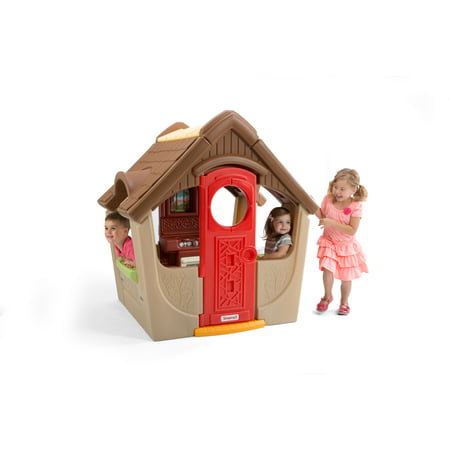 Simplay3 Garden View Cottage for Toddlers, Includes Kitchen and Fireplace