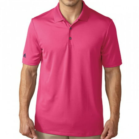 Adidas Golf Performance Polo   Eqt Pink   Closeout