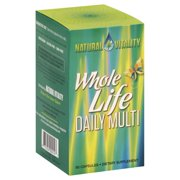 Natural Vitality Whole Life Daily Multi Capsules, 90 count