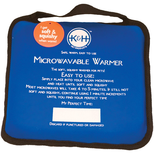 """K&H Microwavable Pet Bed Warmer, 9"""" x 9"""""""