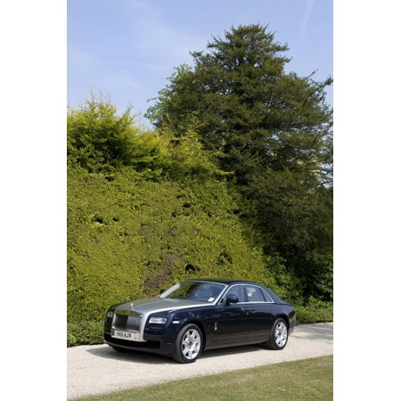 2011 Rolls Royce Ghost Print Wall Art