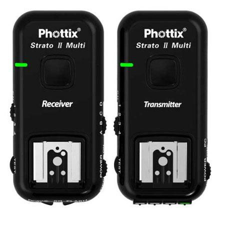 Phottix Strato II Multi 5-in-1 Remote Flash Trigger Set For Sony