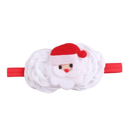 Huppin's Hot Sale Christmas Decoration Headwear Girls Infant Cute Cartoon Santa Claus Hair Band Headband Headdress Accessories Novelty Gadget - Ugg Headband Sale