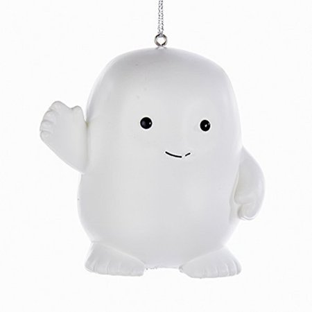 Blow Molded Base (Doctor Who Adipose Blow Mold 3 Inch Christmas Ornament )