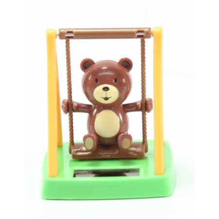 Fun Swinging Bear Solar Toy Playground Home Decor Birthday Congratulatory Gift US Seller By We pay your sales tax