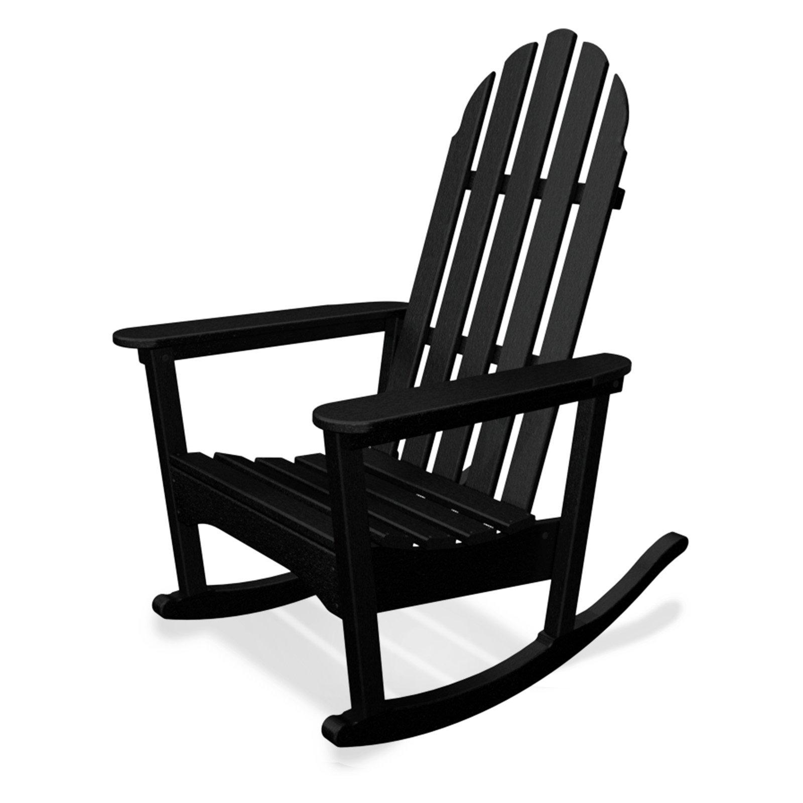 POLYWOOD® Classic Bimini Recycled Plastic Adirondack Rocking Chair