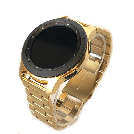 24K Gold Plated 46MM 2018 Samsung Galaxy Watch Links Band ()