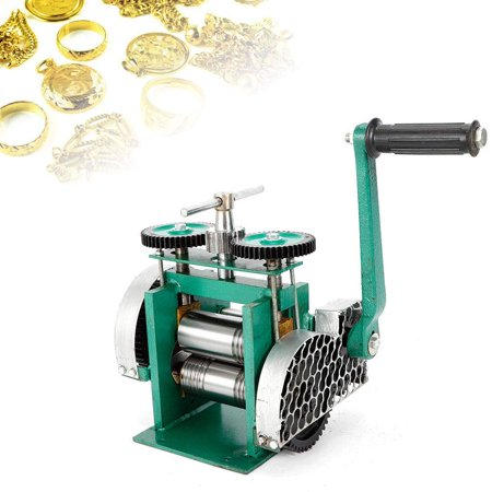 Manual Combination Rolling Mill Machine Jewelry Press Tabletting Tool 305mm