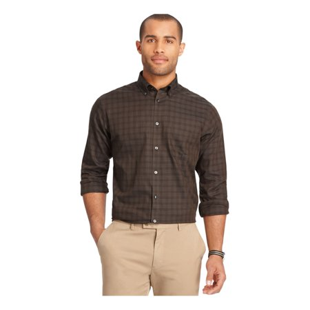 Van Heusen Mens Premium No Iron Button Up Shirt