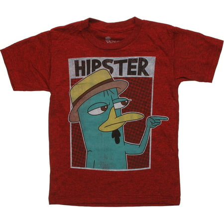 Phineas and Ferb Perry Hipster Juvenile T-Shirt](Phines And Ferb)