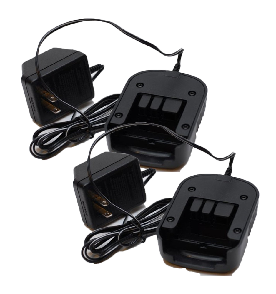 Black and Decker Genuine OEM Replacement (2 Pack) FS18C 18V Battery Charger # 90571729-01-2PK