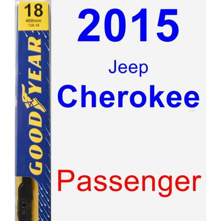 Jeep Cherokee Wiper Motor - 2015 Jeep Cherokee Passenger Wiper Blade - Premium