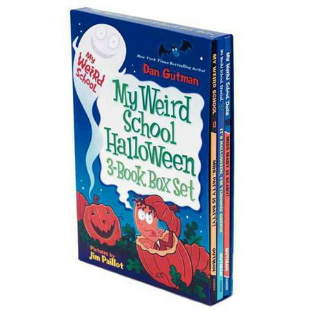 My Weird School Halloween Box Set: It's Halloween, I'm Turning Green! / Mrs. Patty Is Batty / Miss Mary Is - Vintage Halloween Book Boxes