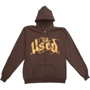 Used  Girls Jr Hooded Sweatshirt Brown