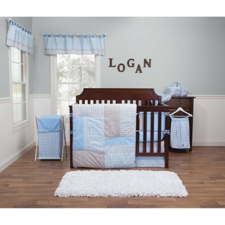 - Trend Lab Logan 3 Piece Crib Bedding Set