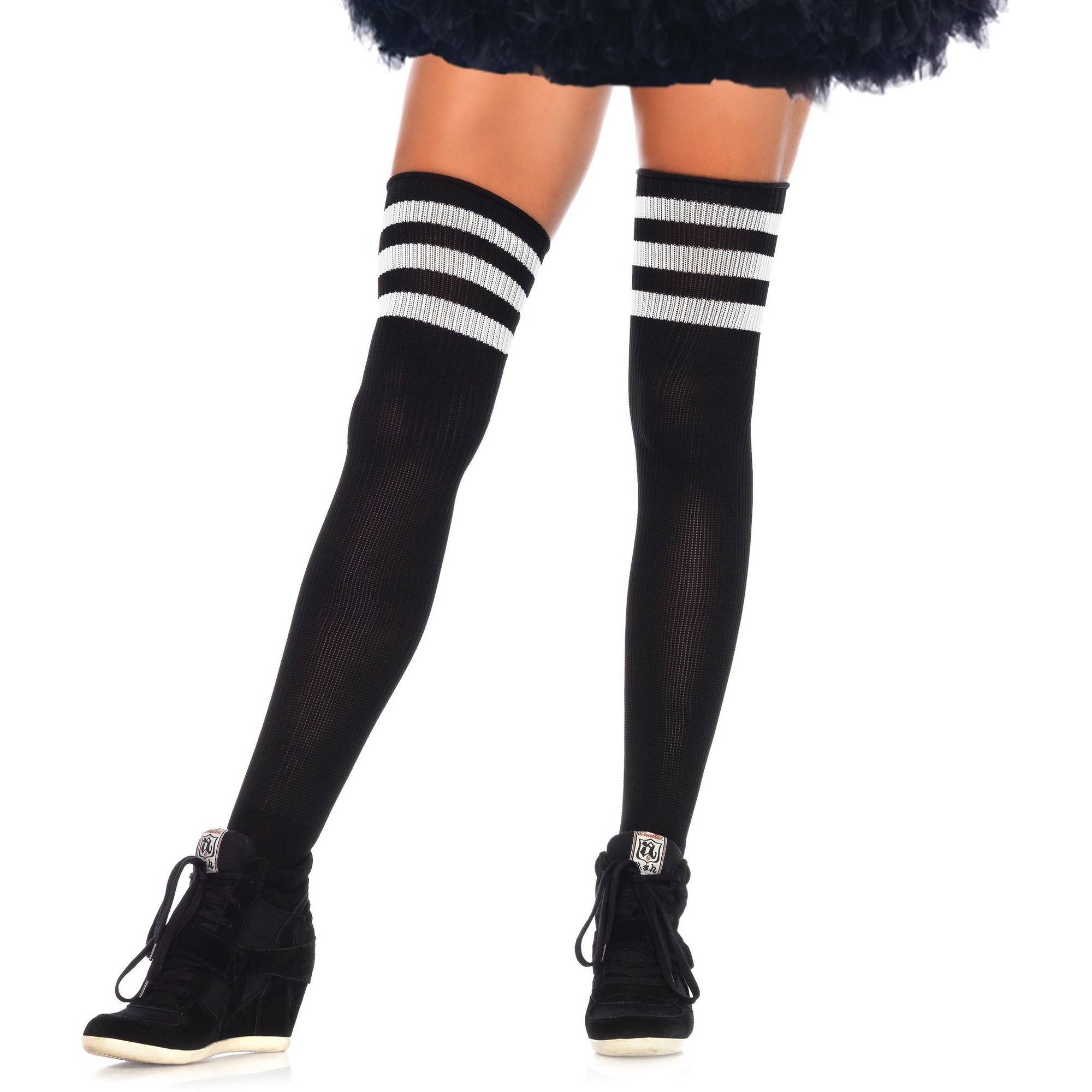 Athletic Thigh High Socks Halloween Costume Accessory  sc 1 st  Walmart & Athletic Thigh High Socks Halloween Costume Accessory - Walmart.com