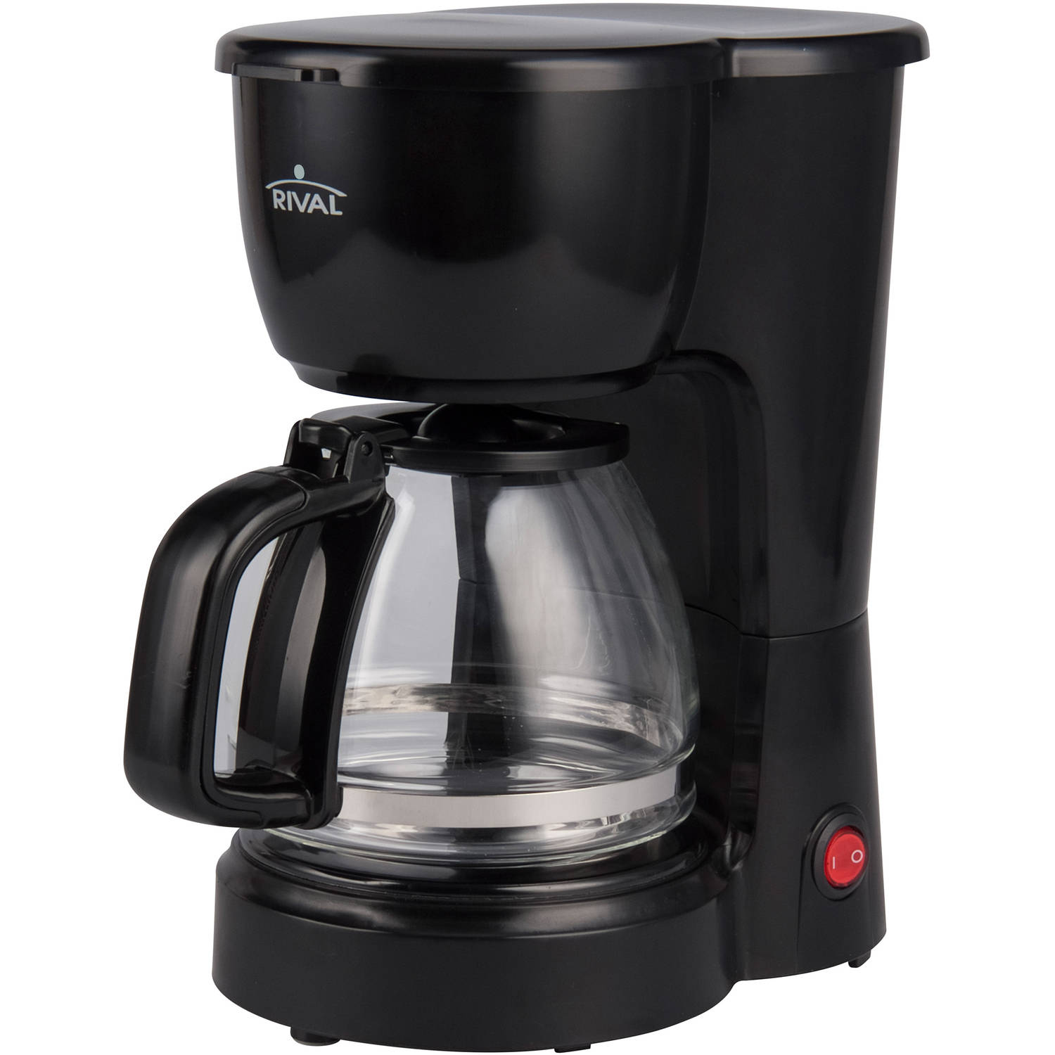 Rival 5-Cup Coffee Maker, Black