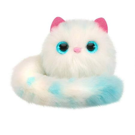 Pomsies Snowball Plush Interactive Toys, - Stuffed Snowballs
