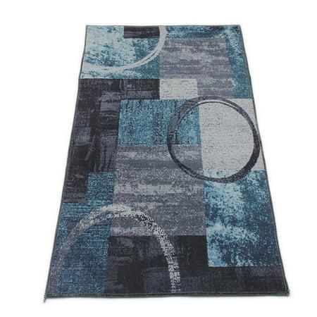 Modern Area Rugs Soft Floor Carpet Mat Abstract Anti-skid Velvet Rug or Runner For Living Room Bedroom Dining Room Multi-size - image 2 de 5