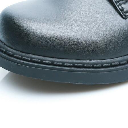 Happystep Toddler Little Boy School Uniform Dress Black Shoes, 1 Pair - image 8 of 9