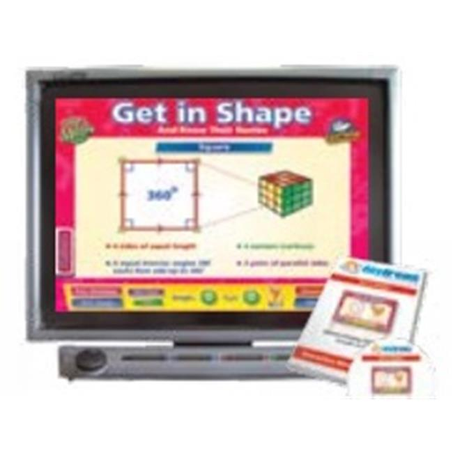 Daydream Education DD-MA-5-30 Get In Shape Interactive Software , Single User