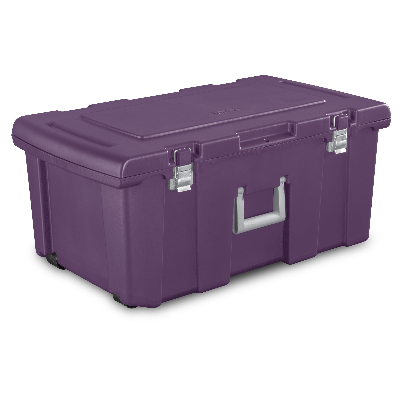 Sterilite Footlocker Moda Purple