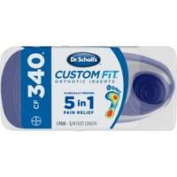 05564d2565 Product Image Dr. Scholl's® Custom Fit® Orthotic Inserts CF340, ...