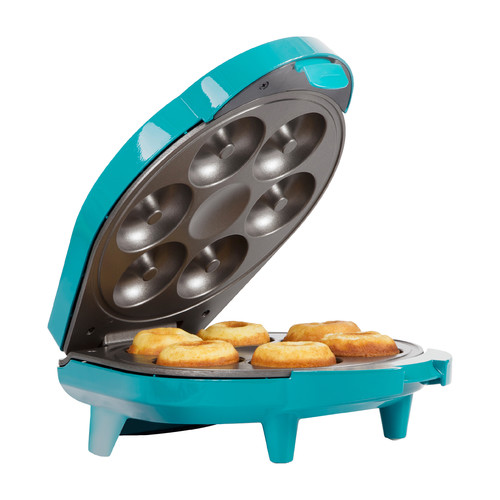 Holstein Housewares Teal Doughnut Maker