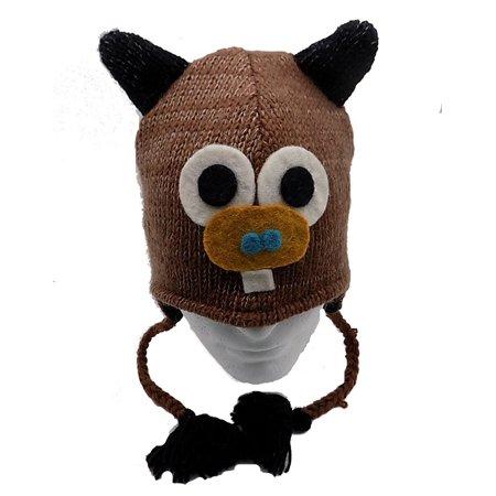 dddcb002002 Animal Hat Beanie 100% Wool
