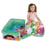 Enjoyable Marshmallow Dora The Explorer Flip Open Sofa Machost Co Dining Chair Design Ideas Machostcouk